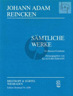 Samtliche Werke Cembalo