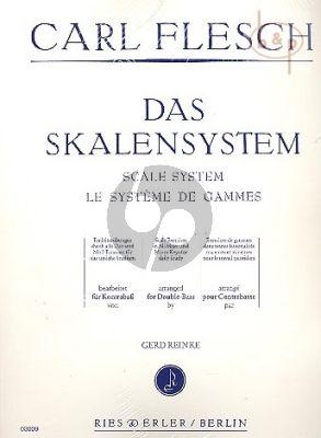 Das Skalensystem Kontrabass