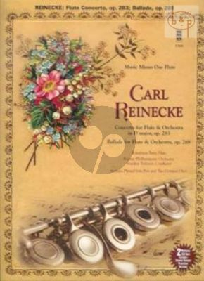 Concerto D-major Op.283 and Ballade Op.288 (Flute-Orchestra)