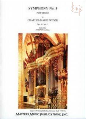 Symphony No.5 Op.42 No.1 Organ