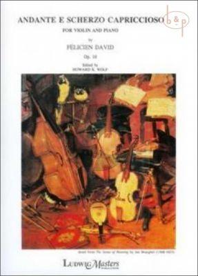 Andante et Scherzo Capriccioso Op.16