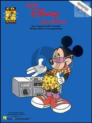 Easy Disney Favorites for Trumpet (Book with Audio online)