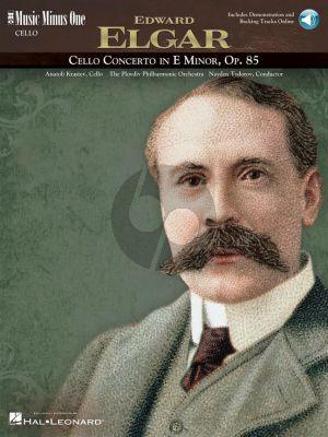 Elgar Concerto e-minor Op.85 Violoncello-Orchestra (Bk- 2 CD's) (Music Minus One)