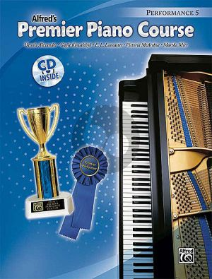 Premier Piano Course Performance Book 5 (Bk-Cd)