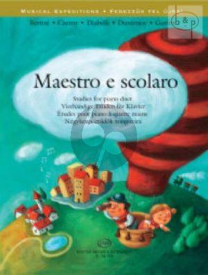 Maestro e Scolaro Studies for Piano 4 hands