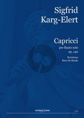 Karg-Elert 30 Caprices Op.107 Flauto (Rien de Reede)