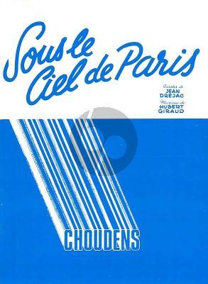 Giraud Sous le Ciel de Paris Chant-Piano (Texte Jean Drejac)