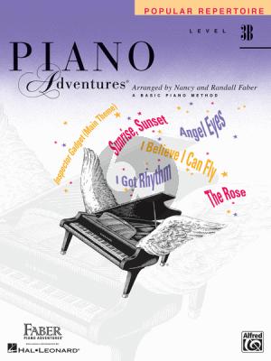 Piano Adventures Popular Repertoire Book Level 3B