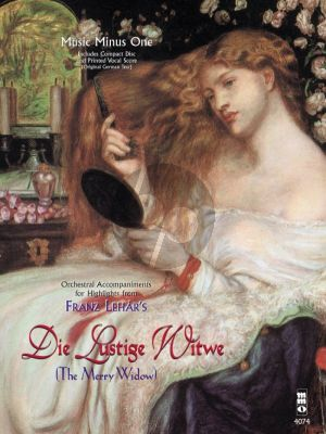 Lehar Die Lustige Witwe (THe Merry Widow Highlights) (Bk-Cd) (MMO)