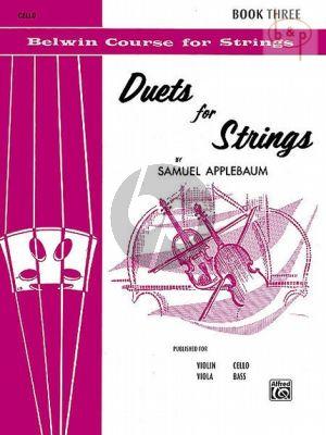 Duets for Strings Vol.3 2 Violoncellos