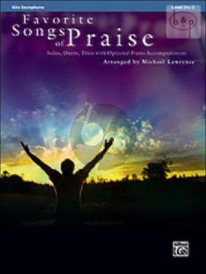 Favorite Songs of Praise (Alto Saxophone) (Level 2 , 5 - 3)