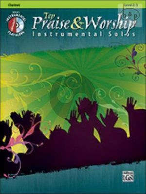 Top Praise and Worship Instrumental Solos for Clarinet