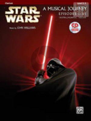 Star Wars (A Musical Journey) Episodes 1 - 6 (Clarinet)