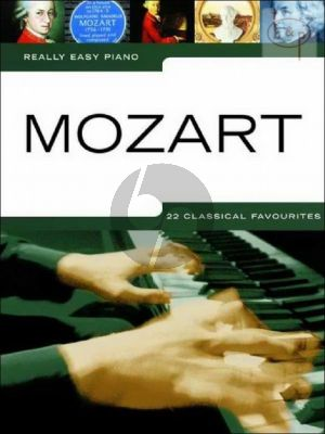 Really Easy Piano Mozart