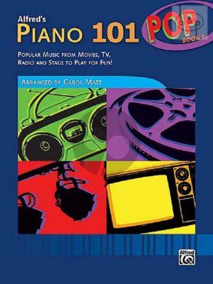 Alfred's Piano 101 Pop Songbook Vol.1