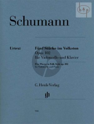 5 Stucke im Volkston Op.102 (Violonc. Version)