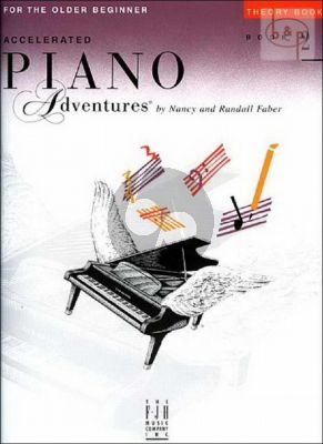Accelerated Piano Adventures for the Older Beginner Theory Book 2