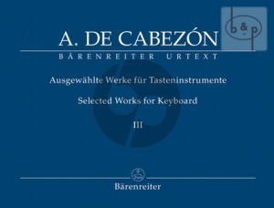 Ausgewahlte Werke fur Tasteninstrumente Vol.3