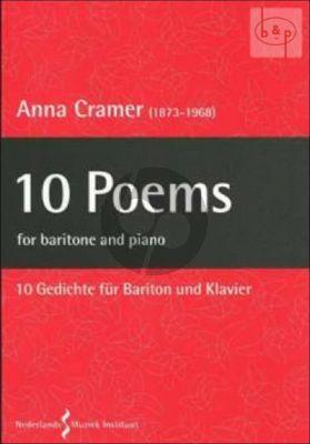 10 Poems Baritone and Piano