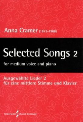 Cramer Selected Songs Vol. 2 Medium Voice and Piano (edited by Stephan Pasveer)