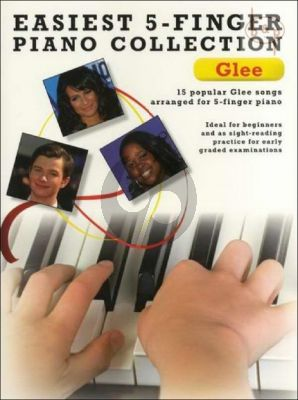 Easiest 5 Finger Piano Collection Glee