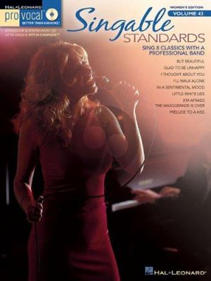 Singable Standards (Pro Vocal Womens Edition Vol.43)