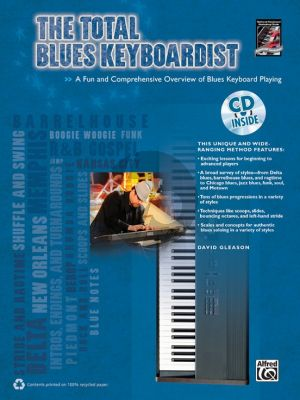 Gleason The Total Blues Keyboardist (A Fun and Comprehensive Overview of Blues Keyboard Playing) (Bk-Cd)
