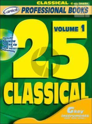 25 Classical Vol.1 (Bk-Cd)