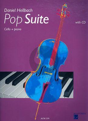 Hellbach Pop Suite Violoncello-Klavier (Bk-Cd)