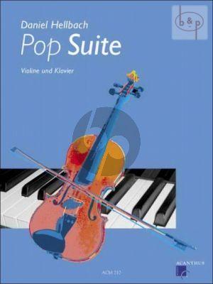 Hellbach Pop Suite Violine-Klavier (Bk-Cd)