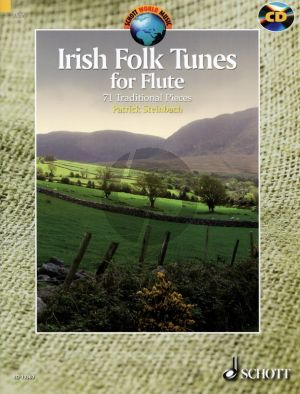 Irish Folk Tunes for Flute (Bk-Cd) (71 Traditional Pieces) (edited by Patrick Steinbach)
