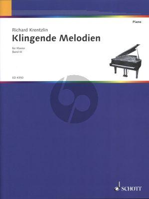 Album Klingende Melodien Vol.3 Klavier (Eine Sammlung von beliebten Tanzen, Marschen, Liedern und Stucken) (leicht gesetzt von Richard Krentzlin)