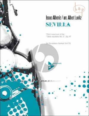 Sevilla (3rd Movement from Suite Espanola Op.47 No.1 (Loritz) (Grade 3 - 4)