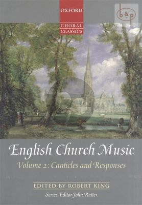 English Church Music Vol.2 Canticles and Responses