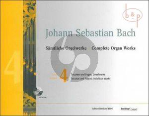 Samtliche Orgelwerke Vol.4 (Toccaten-Fugen und Einzelwerke)