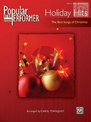 Holiday Hits (The Best Songs of Christmas) (Popular Performer Series)