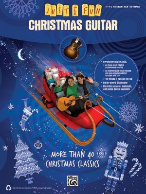 Christmas Guitar (Easy Guitar with TAB) (Just for Fun)
