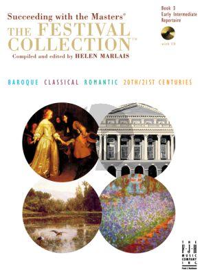 Marlais Festival Collection Vol.3 for Piano (Bk-Cd)