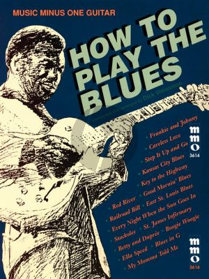 Weissman How to Play Blues (Bk-Cd) (MMO)