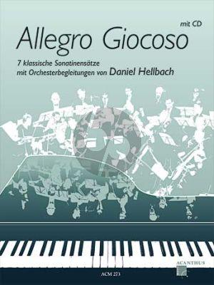 Hellbach Allegro Giocoso (7 klassische Sonatinensatze) (Bk-Cd) (CD mit Orchester Begl. von Daniel Hellbach)