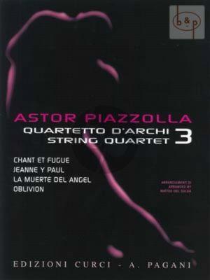 Piazzolla for String Quartet Vol.3