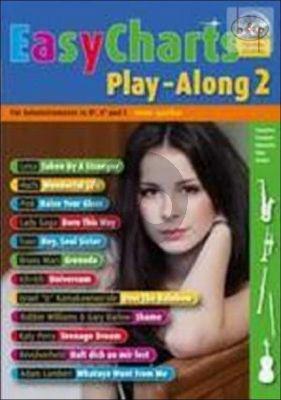 Easy Charts Play-Along Vol.2 (all C.-Bb.-Eb. Instr.) (Bk-Cd)