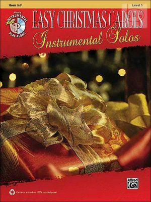 Easy Christmas Carols Instrumental Solos (Horn[F])