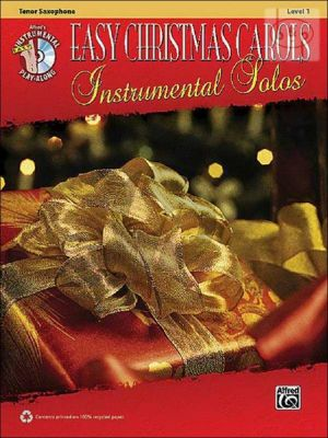 Easy Christmas Carols Instrumental Solos (Tenor Sax.)