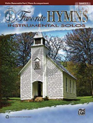 Favorite Hymns Instrumental Solos (Violin)