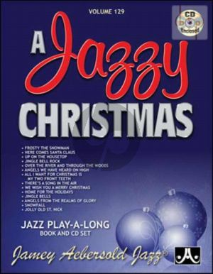 Jazz Improvisation Vol.129 A Jazzy Christmas