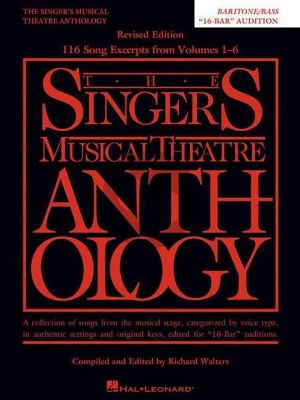 Singers Musical Theatre Anthology Baritone-Bass - 16-Bar Audition Piano-Vocal (edited by Richard Walters)