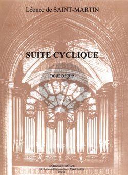 Saint Martin Suite Cyclique Opus 11 Orgue
