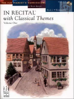 In Recital with Classical Themes Vol.1 Book 2 Elementary Piano