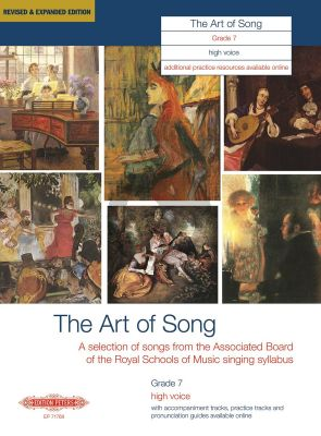 Album Art of Song Grade 7 High Voice (Revised and Expanded Edition) (Songs and Arias from Singing Syllabus ABRSM)